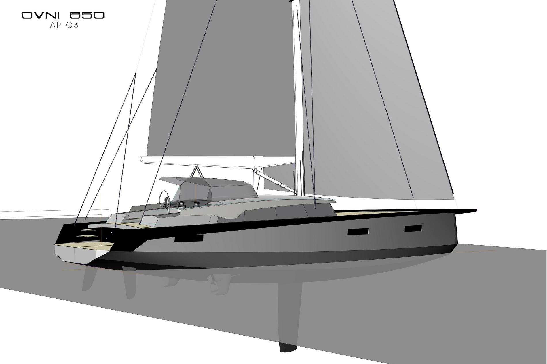 My custom-made sailboat